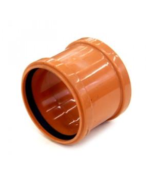 Муфта 160 мм наружная канализационная