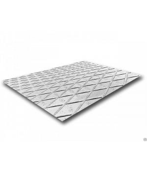 Лист рифлёный 6000х1500х3 мм РОМБ