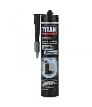 Герметик каучуковый серебристый 310 мл для металлической кровли TYTAN