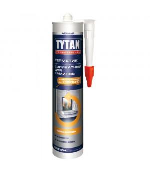 Герметик силикатный черный 310 мл для каминов TYTAN