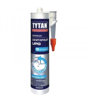 Герметик силиконовый белый 310 мл Санитарный UPG TYTAN