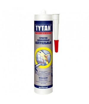 Герметик силиконовый бесцветный 310 мл Нейтральный TYTAN