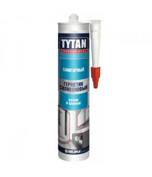 Герметик силиконовый белый 310 мл Санитарный TYTAN
