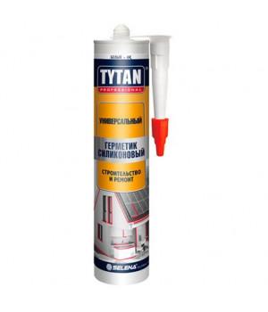 Герметик силиконовый белый 310 мл Универсальный TYTAN