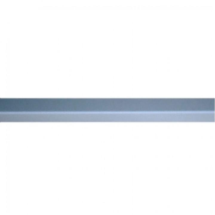 Профиль стальной угловой PL 19х19х3000мм белый Албес