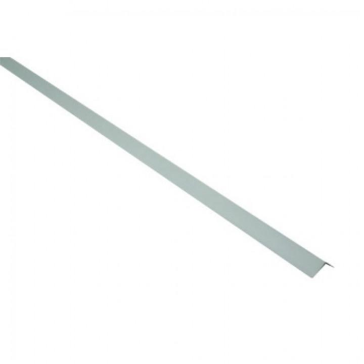 Профиль стальной угловой PL 19х24х3000мм белый Албес