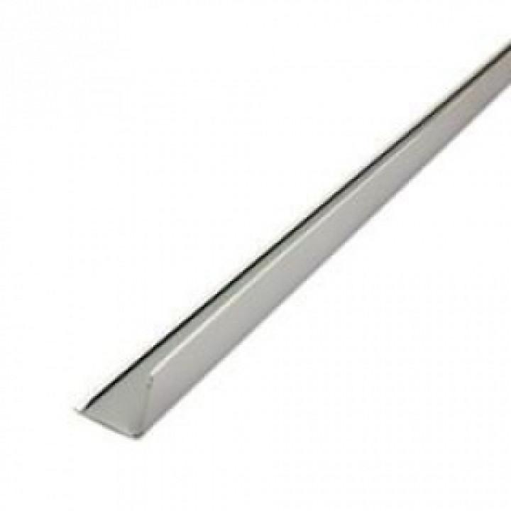Профиль алюминиевый угловой PL 19х24х3000мм металлик матовый Албес