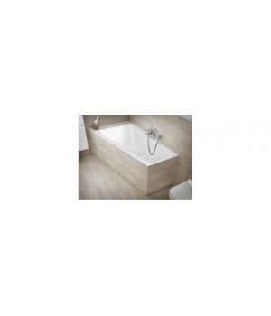 """Ванна акриловая """"CREA"""" 160х100 см левая ассиметричная, без ножек Cersanit"""