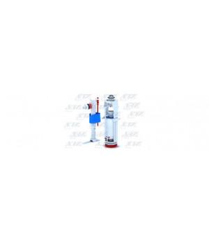 """Арматура бачка комплект кнопка-хром, 1-режим, подводка боковая 1/2"""", АНИ WС8010С"""
