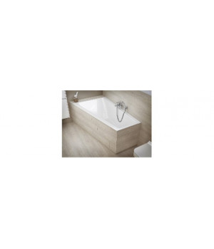 """Ванна акриловая """"CREA"""" 160х100 см правая ассиметричная, без ножек Cersanit"""
