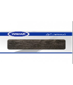 Плинтус Wimar серия с мягким краем 823 Дуб Каменный 86 мм (2,5м)