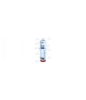 Арматура бачка спускная кнопка-пластик белая, 1-режим АНИ WС7010