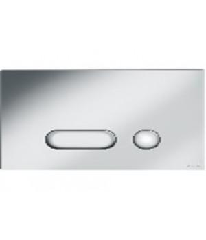 Кнопка INTERA покрытие хром матовый, для инсталляций, универсальная, Cersanit