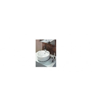 Раковина CALLA 54 встраиваемая на столешницу, белый S-UM-CL/1-w Cersanit