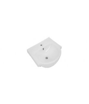 Раковина MODUO 80 SLIM встраиваемая, белый P-UM-MOD80SL/1 Cersanit