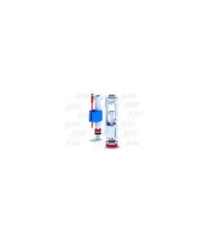 """Арматура бачка комплект кнопка-хром, 2-режима, подводка нижняя 1/2"""", АНИ WС9510С"""