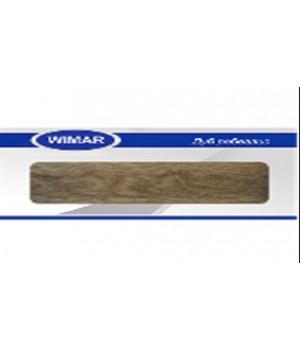 Плинтус Wimar серия с мягким краем 821 Дуб Робеалис (2,5м)