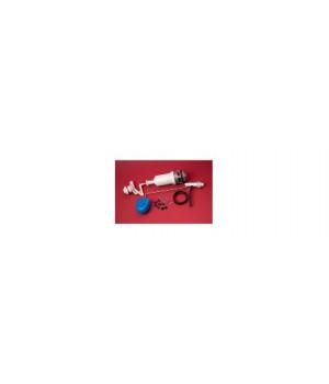Арматура бачка АБК-2000 М-4 универсальная, кнопка-пластик белая, РБМ