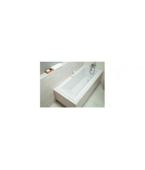 """Ванна акриловая """"CREA"""" 150x75 см белая без ножек, ассиметричная Cersanit"""
