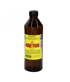 Растворитель Ацетон 0,5 л