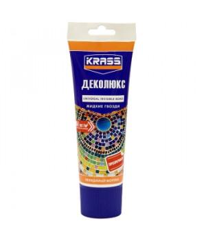 Жидкий гвоздь KRASS бесцветный 250 мл Деколюкс