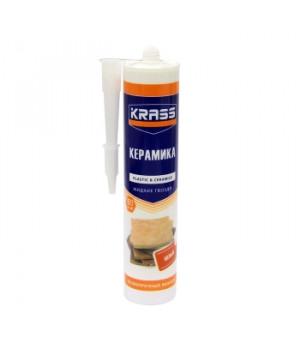 Жидкий гвоздь KRASS белый 300 мл для пластика и плитки