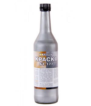 Краска БТ-177 Лакра 0,5 л серебрянка