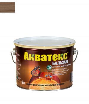 Масло для древесины натуральное Акватекс Бальзам лиственница 2 л