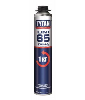 Пена монтажная профессиональная TYTAN 65 UNI 750 мл