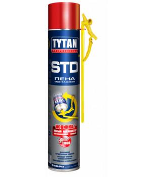 Пена монтажная бытовая TYTAN STD ЭРГО 750 мл