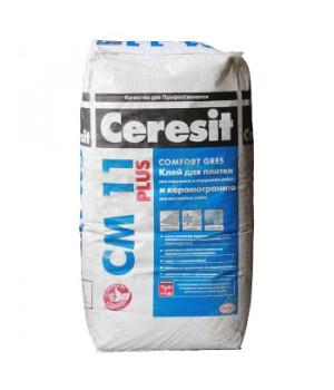 Клей для плитки CM11 Plus 25 кг Ceresit