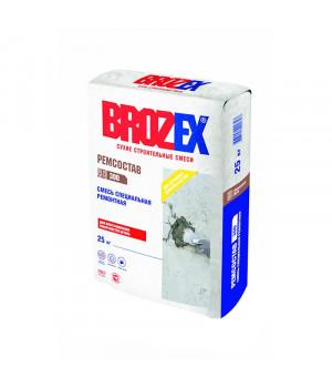 Ремонтная смесь для бетона М300 BROZEX быстротвердеющая 25 кг