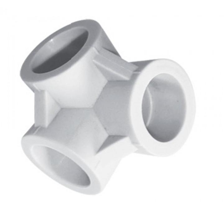 Тройник пп 20 мм двухплоскостной TEBO