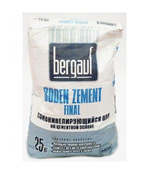 Ровнитель цементный Boden zement final 25 кг Bergauf самовыравнивающийся