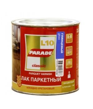 Лак Parade L10 0,75 л паркетный глянцевый