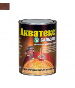 Масло для древесины натуральное Акватекс Бальзам махагон 0,75 л
