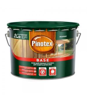 Грунт для дерева под покраску Pinotex Base бесцветный 9 л