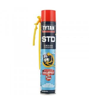 Пена монтажная бытовая TYTAN STD ЭРГО О2 зимняя 750 мл