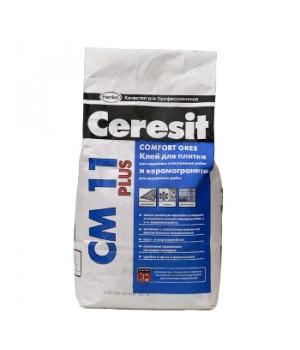 Клей для плитки CM11 Plus 5 кг Ceresit