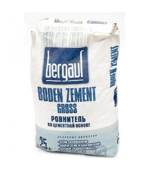 Наливной пол цементный Boden zement gross 25 кг Bergauf