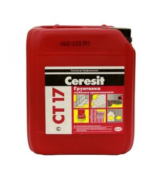 Грунтовка Ceresit CT17 5 л глубокого проникновения