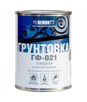 Грунт ГФ-021 Proremontt серый 0,9 кг
