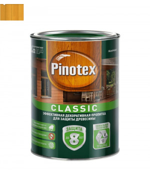 Пропитка для дерева защитная Pinotex Classic калужница 1 л