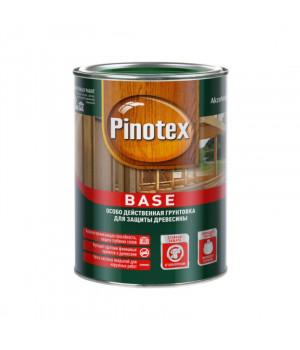 Грунт для дерева под покраску Pinotex Base бесцветный 1 л