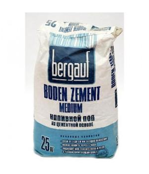 Ровнитель для пола цементный Boden zement medium 25 кг Bergauf