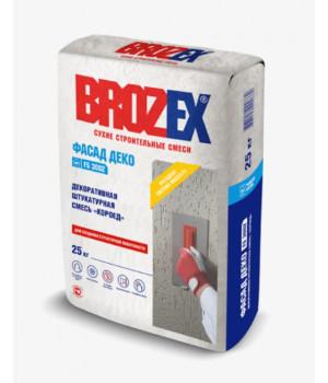 Штукатурка декоративная Brozex Короед 3 мм FS 3002 Фасад Деко 25 кг