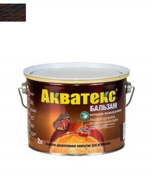 Масло для древесины натуральное Акватекс Бальзам палисандр 2 л