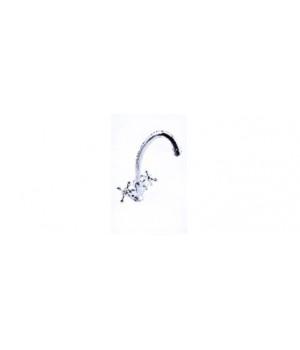 Смеситель для умывальника OMEGA H-3310 1/2 керамика, под гайку