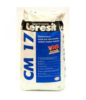 Клей для плитки CM17 эластичный 25 кг Ceresit