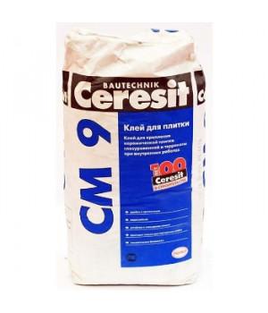 Клей для плитки CM9, 25 кг Ceresit
